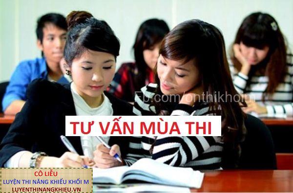 Địa chỉ học ôn luyện thi năng khiếu khối M uy tín ở Hà Nội